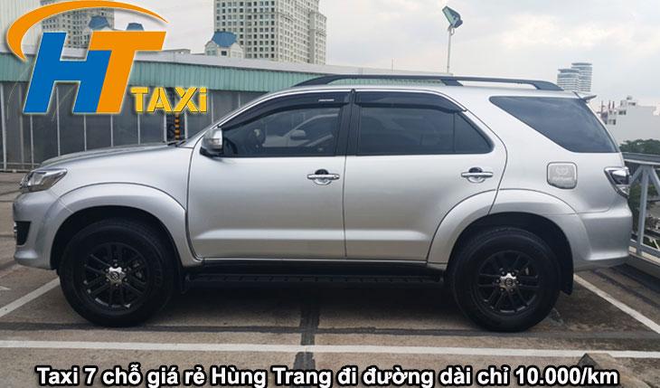 Xe taxi 7 chỗ hà nội giá rẻ nhất Hùng Trang